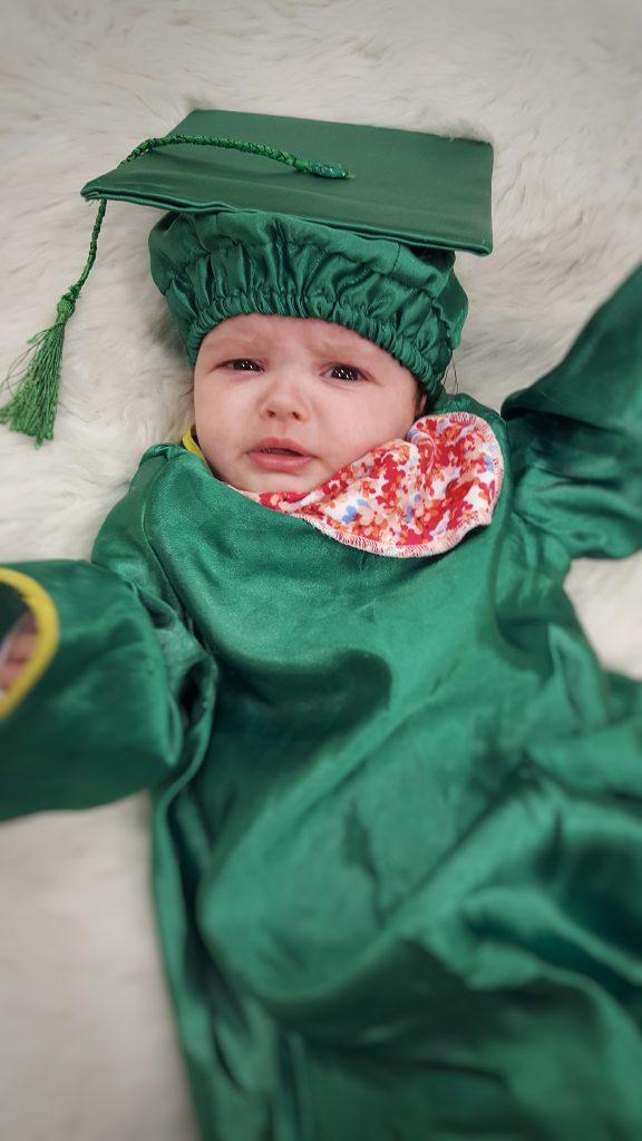 Baby sensory graduate!