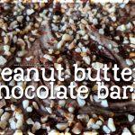 Chocolate peanut butter bark – yummy!