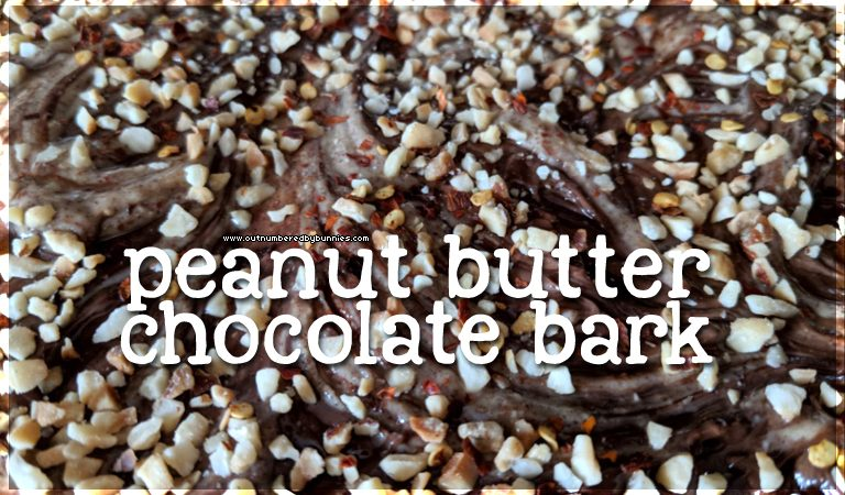 peanut butter chocolate bark