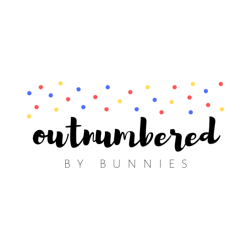 outnumbered by bunnies logo